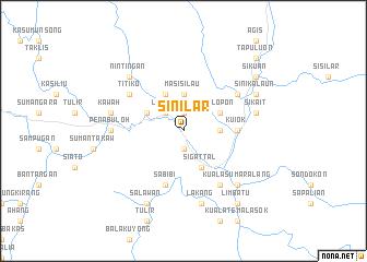 map of Sinilar
