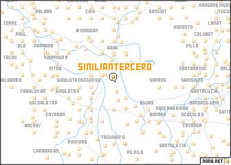 map of Sinilian Tercero