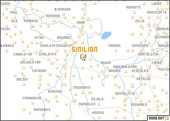 map of Sinilian
