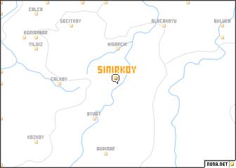 map of Sınırköy