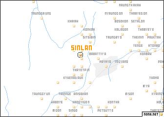 map of Sinlan