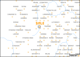 map of Sinle