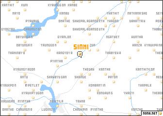 map of Sinmi