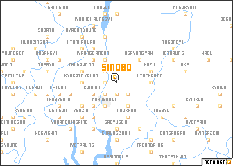map of Sinobo