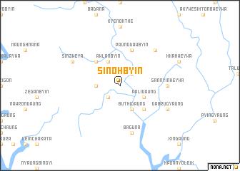map of Sin-ohbyin