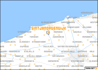 map of Sint-Jan-op-den-Dijk