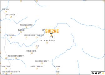 map of Sinzwe