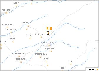 map of Şin