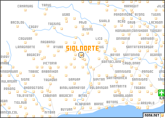 map of Siol Norte