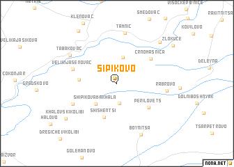 map of Šipikovo