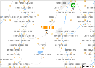 map of Siputih