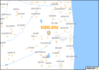 map of Sıqalonu