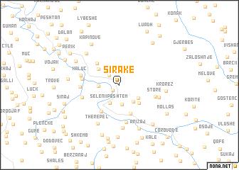map of Sirakë