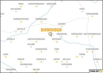 map of Siranvoga