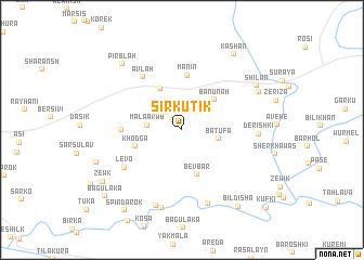 map of Sīrkutik