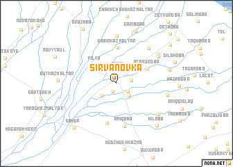 map of Şırvanovka