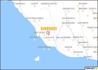 map of Sisasani