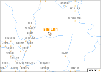 map of Sisilar
