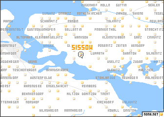 map of Sissow