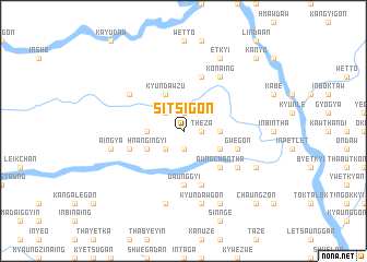 map of Sitsigon