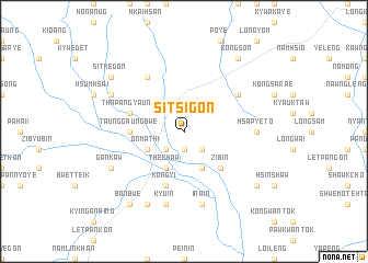 map of Sitsi-gôn