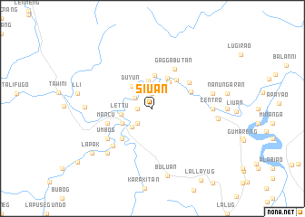 map of Siuan