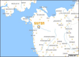 map of Siuton