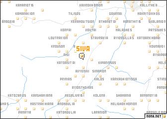 map of Síva