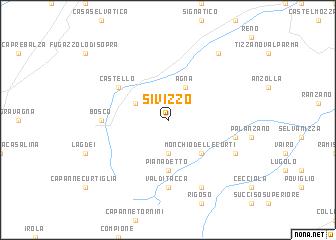 map of Sivizzo
