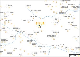 map of Şivlǝ
