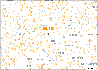 map of Šivšići