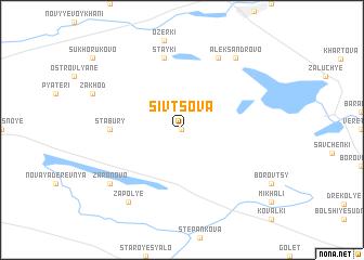 map of Sivtsova