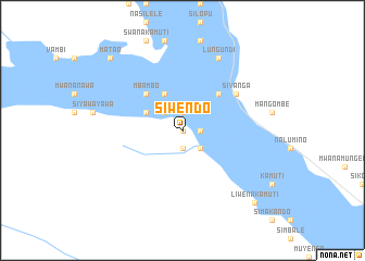 map of Siwendo