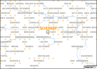 map of Sixenhof