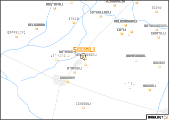 map of Şıxımlı