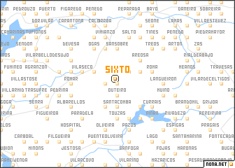 map of Sixto