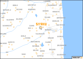 map of Siyaku