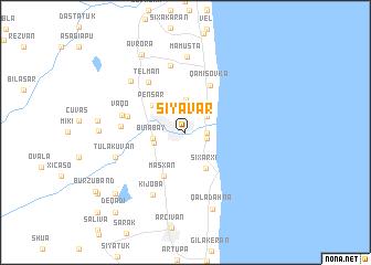 map of Siyavar