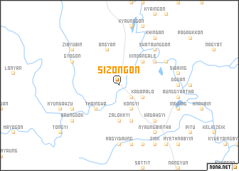 map of Sizongon