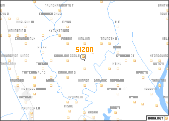map of Sizon