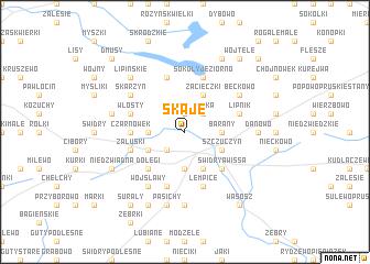 map of Skaje