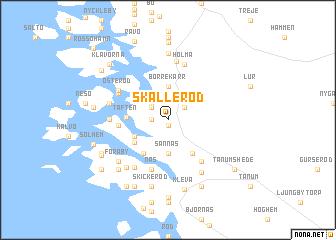 map of Skälleröd