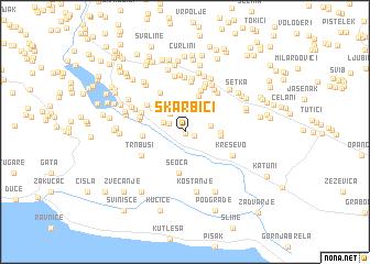 map of Škarbići