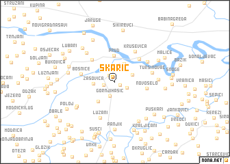 map of Škarić