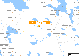 map of Skarphyttan