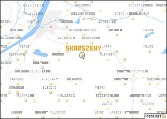 map of Skarszewy