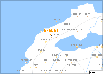 map of Skedet