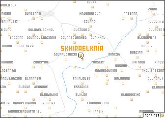 map of Skhira el Knia