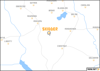 map of Skidder