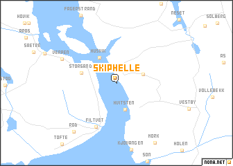 map of Skiphelle